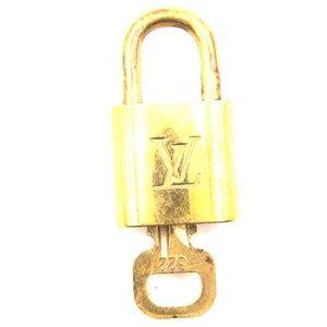 Gold Lock Keepall Speedy Alma  Key Set #322 Bag